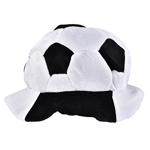 Vbestlife World Cup Soccer Hats Fans Party Football Shape Hat Soccer Match Cheering Cap, Multicolor Matching the National Flags(Russia) -