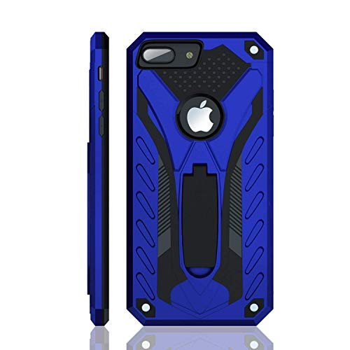 iPhone 8 Plus Case | Military Grade | 12ft. Drop Tested Protective Case | Kickstand | Wireless Charging | Compatible with Apple iPhone 8 Plus - Blue
