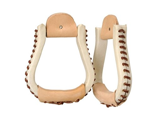 Tough-1 Rawhide Visalia Stirrups