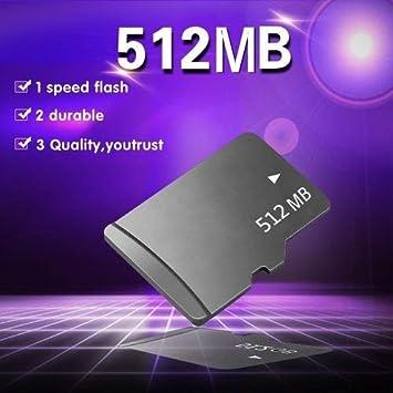 Micro SD TF - Tarjeta de memoria para móvil (clase 10, 512 MB de ...