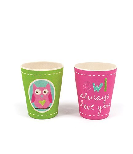 Tiny Footprint Owl Cups 2 Pack 63066
