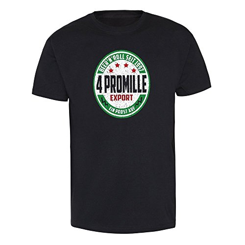 "4 Promille ""Beer & Roll - Export"" T-Shirt (L)"