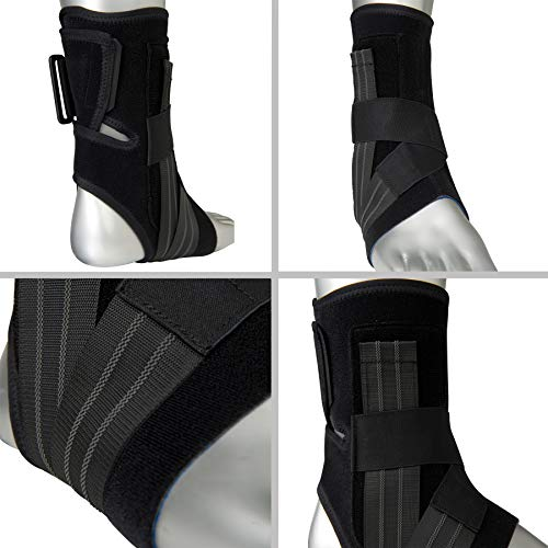 Zamst A1 Right Ankle Brace, Black, Medium by Zamst (Image #1)