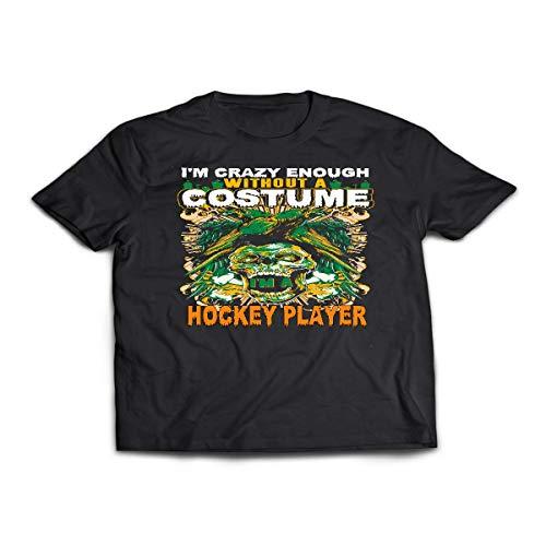 Hockey Player Costume Halloween Funny Gifts Shirt - Tshirt]()