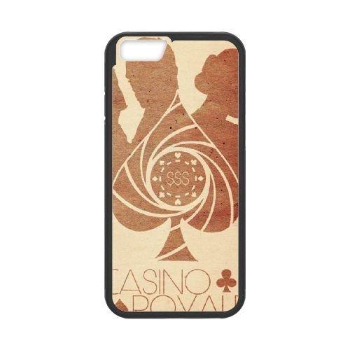 007 James Bond iPhone 6 4.7 Inch Cell Phone Case Black Exquisite designs Phone Case KM4275H8