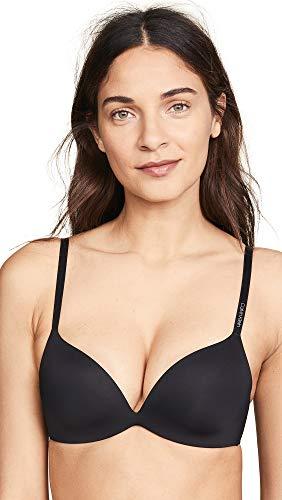 Calvin Klein Underwear Women's Form Push Up Bra, Black, 30DD