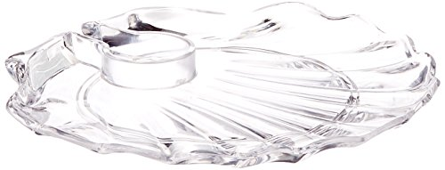 Prodyne Shell Acrylic Wine 'N Dine Party Plate ()