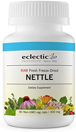 Eclectic Nettles Leaf Freeze Dried Vegetables, Blue, 90 Count