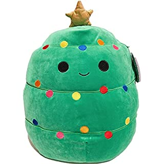 "SQUISHMALLOWS Kellytoy 2020 Christmas Squad Plush Toy (8"" Carol the Xmas Tree)"