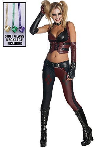 Rubie's Batman Arkham City Harley Quinn Women's Sexy Costume Party (Party City Costumes For Women)