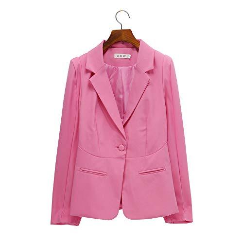 Lookatool LLC Korean Style Slim Suit Coat Long Sleeve Women Casual Small Suit ()