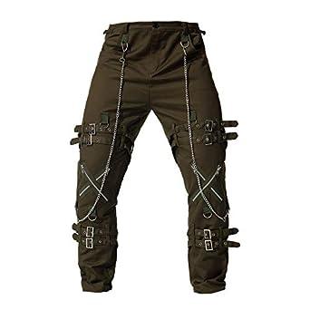 Cebbay Pantalones Casuales para Hombres Pantalones de Hombre Pantalones  Deportivos Cremallera de Gran tamaño Retro Estilo Urbano Liquidación  (Ejercito Verde ... 7f25967d46f