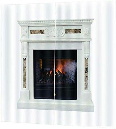 QinKingstore 170x200CM 2ピース/セットウィンドウカーテンデカール用ホームキッチンリビングルームベッドルームカーテン用窓装飾