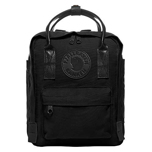 Fjallraven - Kanken No.2 Black Mini Backpack for Work, Black