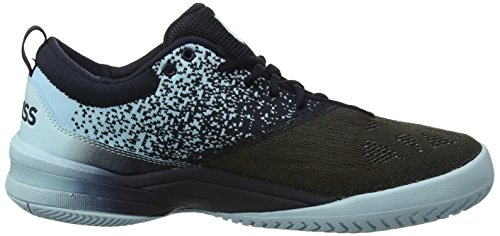 Chaussures Tennis swiss Noir De Performance K Knitshot black Glow blue Homme Iris wtqXxR