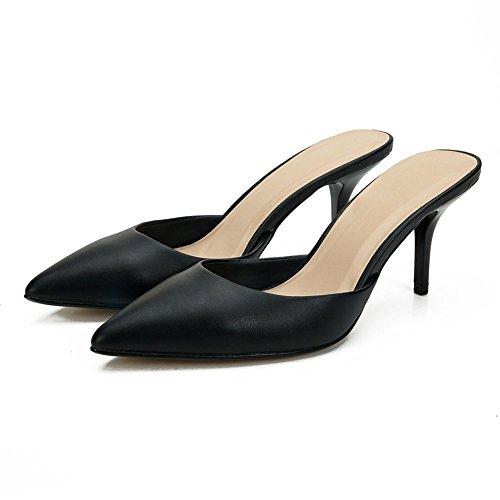 Mujer Cuña Sandalias Fereshte Negro Con Pq4tTCw