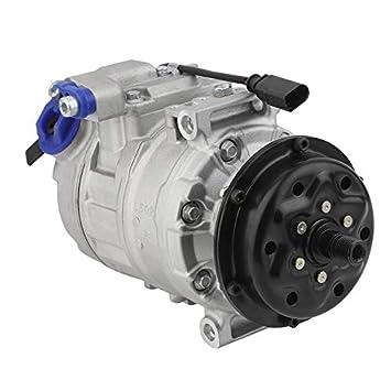 Yogasada Compresor de Aire Acondicionado para Volkswagen 7L Compresor de A/C para VW Transporter V Bus 7HB 7HJ 7EB 7EJ 7EF 2.5 TDI: Amazon.es: Hogar