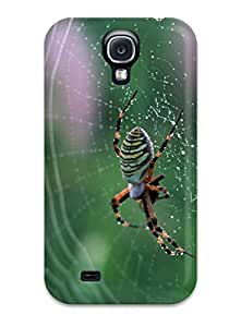 Perfect Fit Spider On A Spider Web Case For Galaxy S4