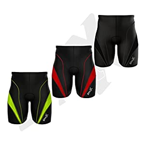 Sparx Men Triathlon Bike Short Triathlon Shorts Mens Trishort Swim-Bike-Run