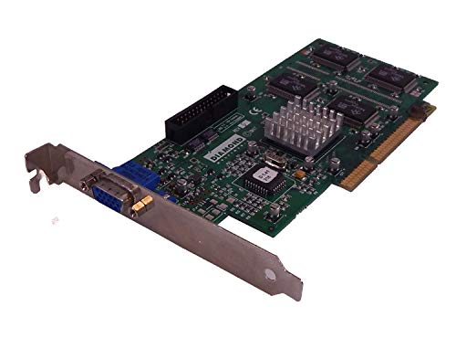 Dell Diamond Fire GL 1000 Pro 8MB AGP Video Card 6305C - Agp 8mb Card Video