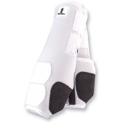 - Classic Equine Legacy SMB Boots FRT Medium White