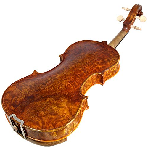 Sky 4/4 Full Size NY100 Bird's Eye Vintage Violin Guarantee Grand Mastero Sound Professional Hand-Made Hand-Crafted Acoustic ()