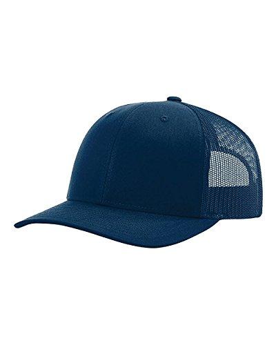 Richardson Trucker Snapback Cap,Navy,Adjustable
