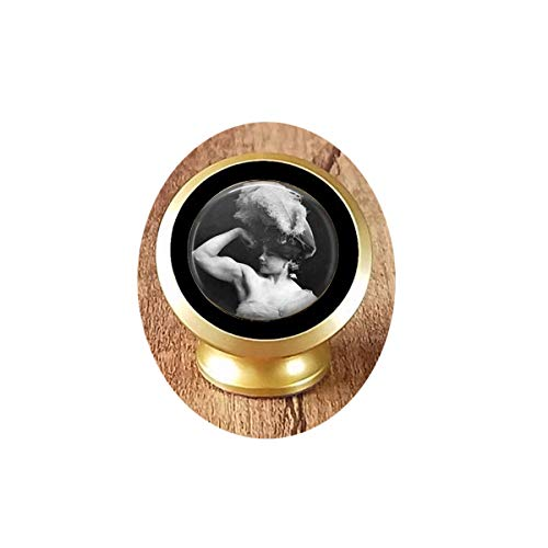 asd Victorian Strong Woman - Weightlifter - Super Woman - Girl Power - Woman's Strength Magnetic Car Phone Mount Holder ()
