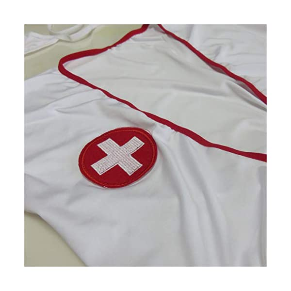 BeeMuse Femme Sexy Schoolgirl Infirmière Tentation Le Jeu de Rôle Cosplay Lingerie Set Babydoll Uniform Costumes Outfit
