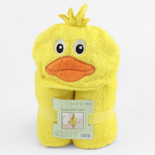peanut-ollie-hooded-yellow-duckie-bath-towel-child-size-100-cotton-cute-duck