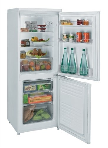 Candy CFM 2550 E Independiente 223L A+ Blanco nevera y congelador - Frigorífico (223 L, N-ST, 42 dB, 3,5 kg/24h, A+, Blanco): Amazon.es: Hogar