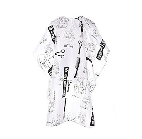 Babero Adulto, Lomire Peluquería Vestido Del Cabo Diseño De Corte Estilista De Paño: Amazon.es: Juguetes y juegos