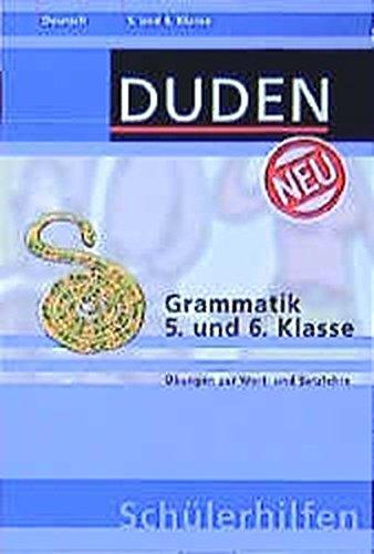 Duden Schülerhilfen, Grammatik, 5. und 6. Klasse