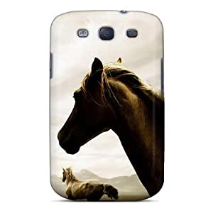 New Cute Funny Roaming Horse Case Cover/ Galaxy S3 Case Cover