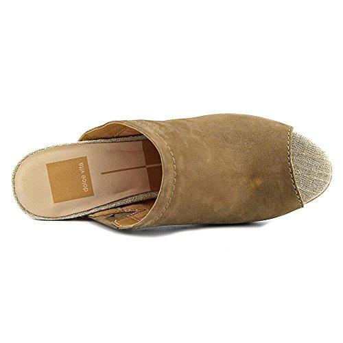 Dolce Vita Tegan Camoscio Sandalo con la Zeppa