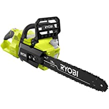 Ryobi 14 in. 40-Volt Baretool Brushless Lithium-Ion Cordless Chainsaw, 2019 Model RY40530, Li-Ion 40V, (Battery and Charger Not Included) (Renewed)