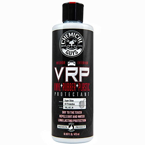 Chemical Guys TVD_107_16 V.R.P. Vinyl, Rubber, and Plastic Super Shine Dressing (16 oz)