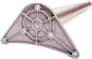 Juego de patas extensibles de mesa   Sossai® Premium TBS   Óptica de acero inoxidable   Altura regulable 710 mm + 20 mm   Set de 4 unidades: Amazon.es: Bricolaje y herramientas