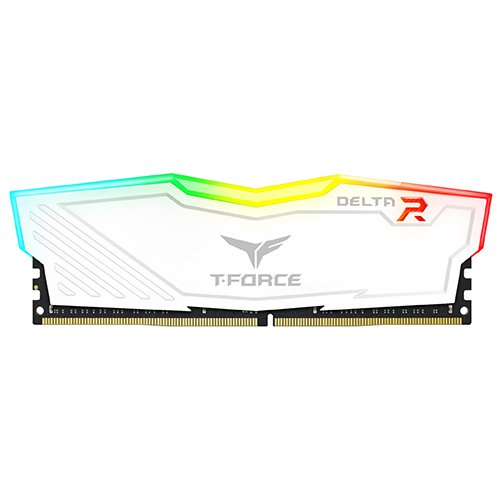 Team 16GB (2 x 8GB) T-Force Delta II RGB Series DDR4 PC4-24000 3000MHz Desktop Memory Model TF4D416G3000HC16CDC01