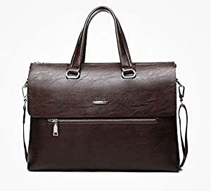 Genuine leather casual handbag cross body bag and single shoulder bag for men DS0101-1