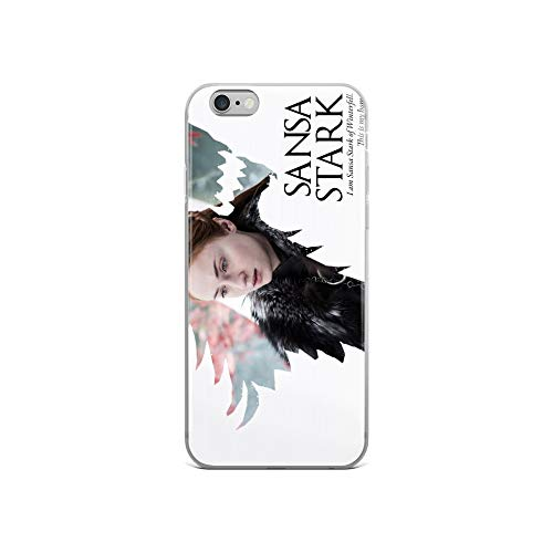 iPhone 6/6s Case Anti-Scratch Television Show Transparent Cases Cover Sansa Stark of House Stark Tv Shows Series Crystal Clear