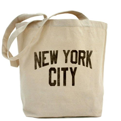 CafePress–Ciudad de Nueva York–Gamuza de bolsa de lona bolsa, bolsa de la compra