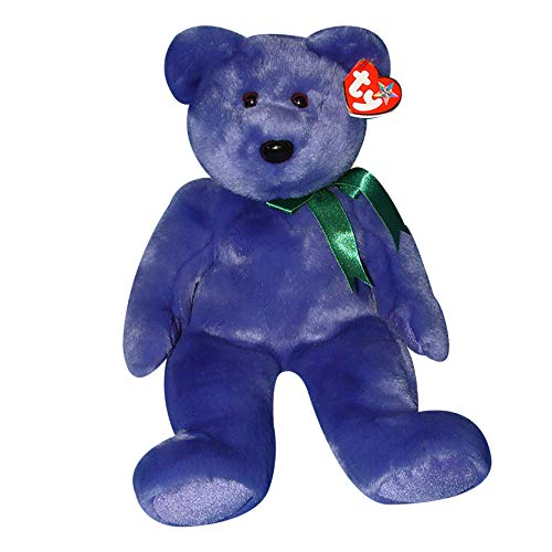 TY Beanie Buddy - EMPLOYEE the Bear from Ty