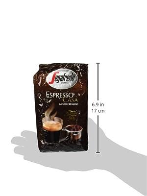 Segafredo Casa Whole Beans Coffee 2 Packs 17.6oz/500g Each