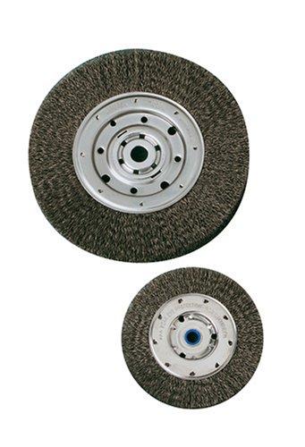 United Abrasives- SAIT 06559 7'' x .014 x 1-9/16'' x 1'' Wide Bench Wire Wheel