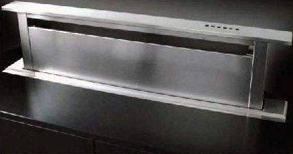Sirius mainau downdraft versenkbare haube edelstahl 88 cm