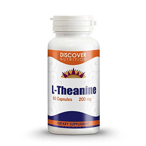L-théanine 200mg 60 Capsules