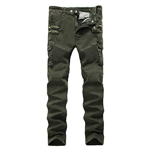 Casual Trosuers Stretch Lavoro Da 4230 98Cotone E Mpiosy Jeans Fit 2Pantaloni Slim Estensibile Taglie 28 UomoDenim JlF1Tc3K