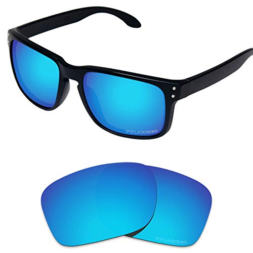 Tintart Performance Replacement Lenses for Oakley Holbrook Sunglass Polarized Etched-Sky Blue from Tintart