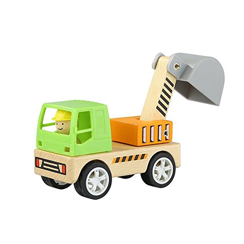 Dall Wooden Building Block Construction Vehicle Stitching Removable Puzzle Kids Toys Gift (Color : 006)